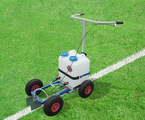 Nassmarkierwagen für Fussballplätze